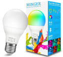 Minger RGB A19 60W LED Light Bulb for $10 + free shipping w/ Prime