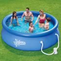 Summer Escapes 10-Ft. Pool w/ Pump for $48 + free shipping