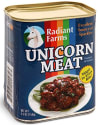 ThinkGeek Canned Unicorn Meat 5.5-oz. Tin for $12 + free shipping