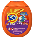 Tide Pods Laundry Detergent 81-Count Tub for $14 w/ Prime + free shipping