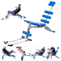 Costway 5-in-1 Abdominal Training Bench for $64 + free shipping