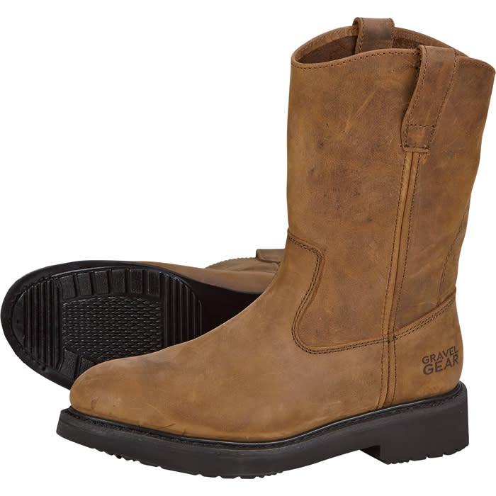 "Gravel Gear Men's 10"" Wellington Boots for $63"