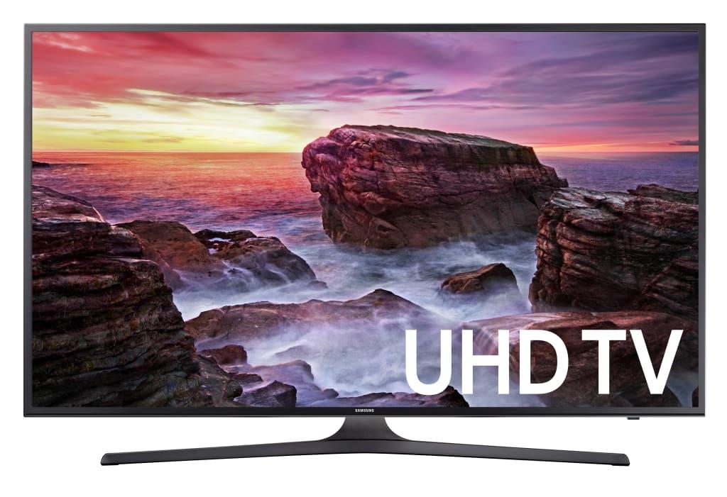 "Samsung 40"" 4K HDR LED LCD UHD Smart TV for $300"