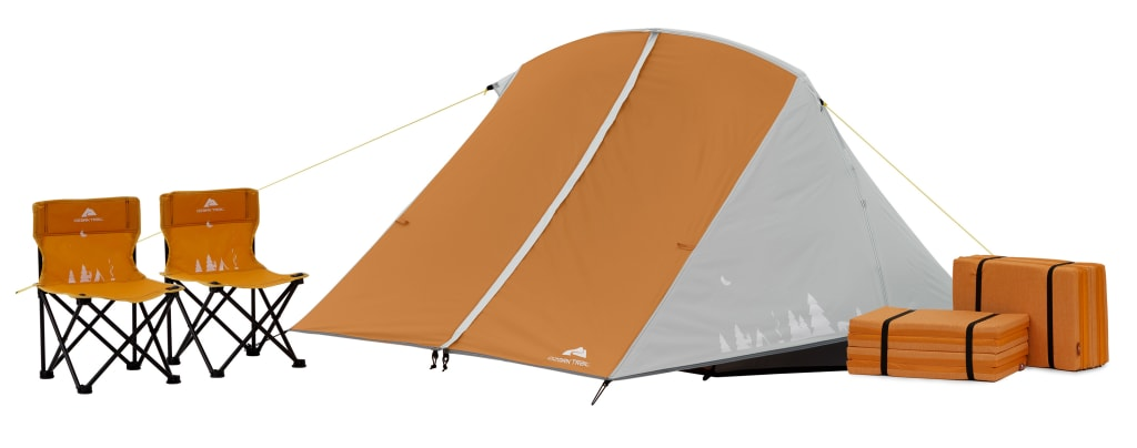 Ozark Trail 3-Person Kids Camping Tent Bundle for $29