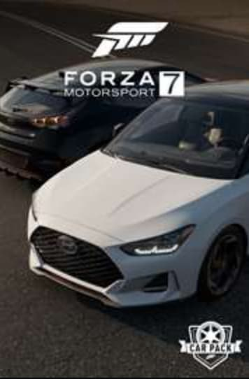 Forza 7 2019 Hyundai Veloster Car Pack for free