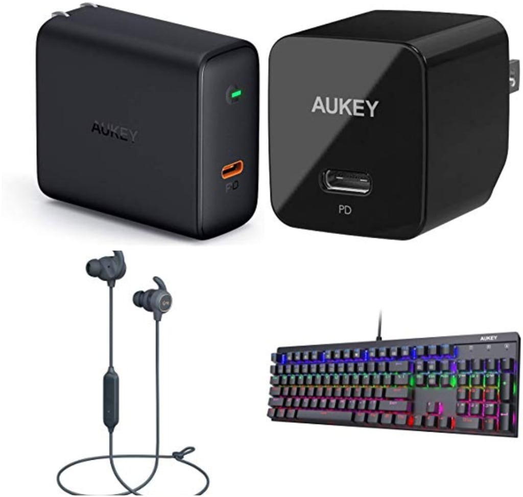 Aukey at Amazon: Up to 30% off