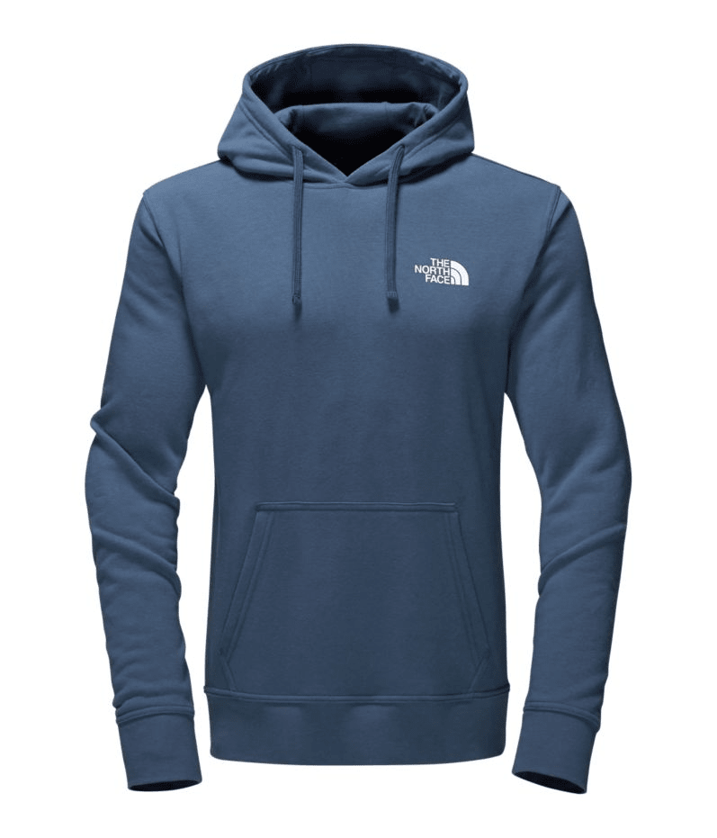 North Face Men's Half Dome Red Box Hoodie for $27