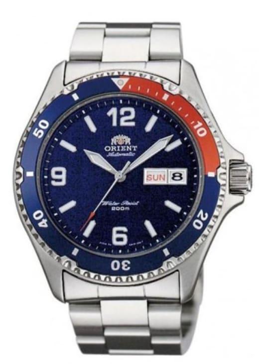 Orient Men's Mako II Automatic Watch for $135
