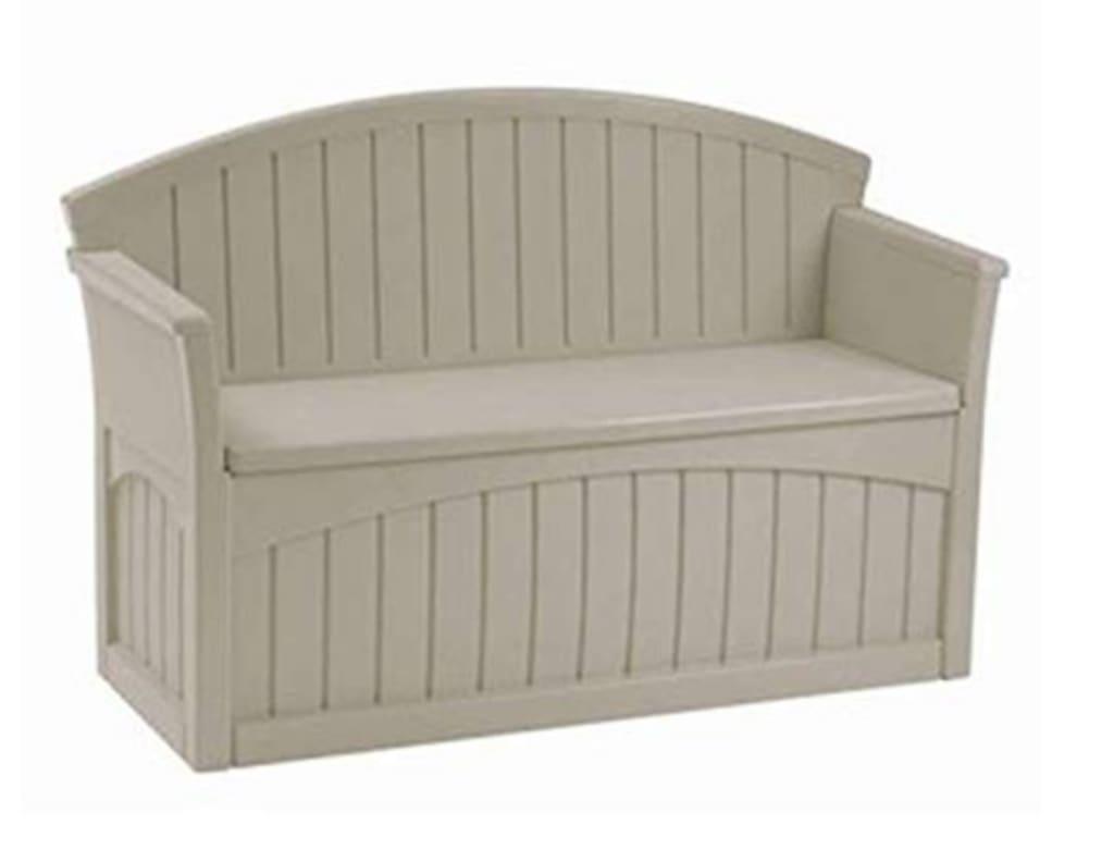 Wondrous Suncast 50 Gallon Patio Bench With Storage For 89 Download Free Architecture Designs Sospemadebymaigaardcom