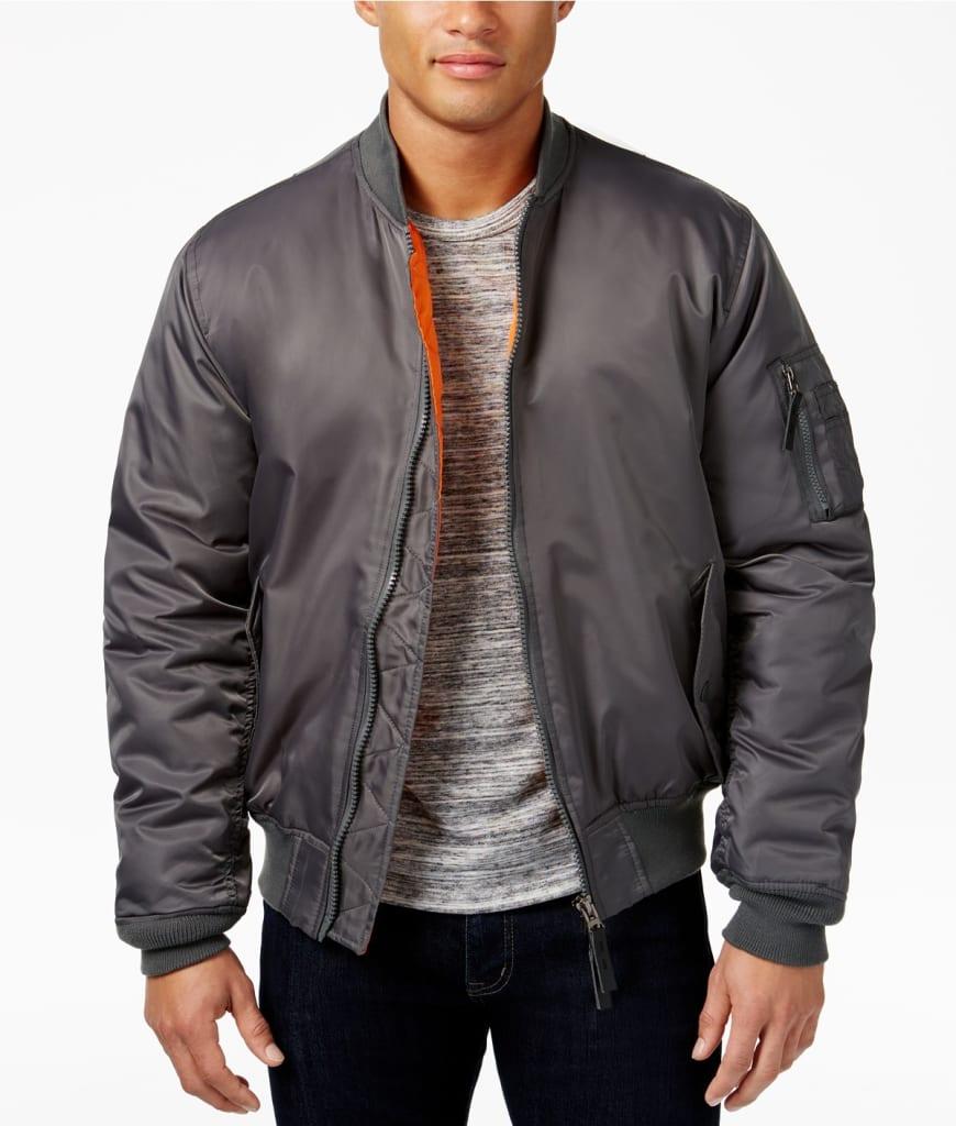 Ring of Fire Men's Bomber Jacket for $19