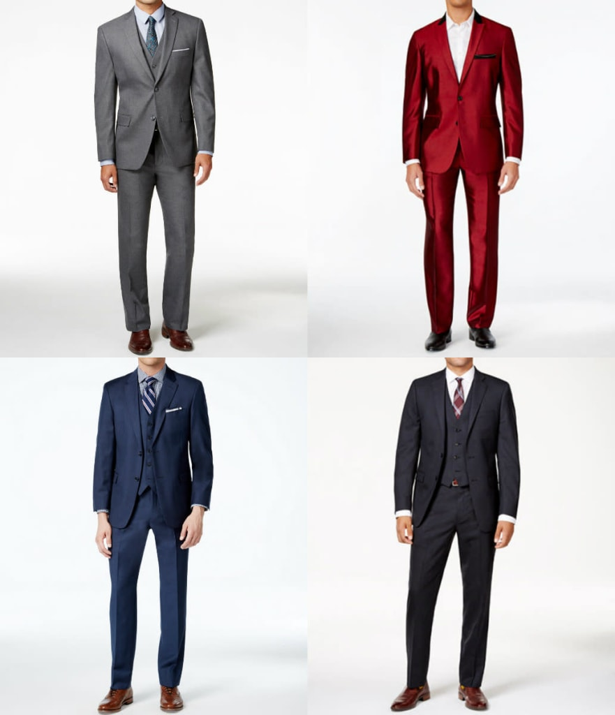 Men's Suits at Macy's: Up to 85% off + 20% off