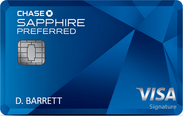 Chase Sapphire Preferred® Card 50,000 Bonus Points