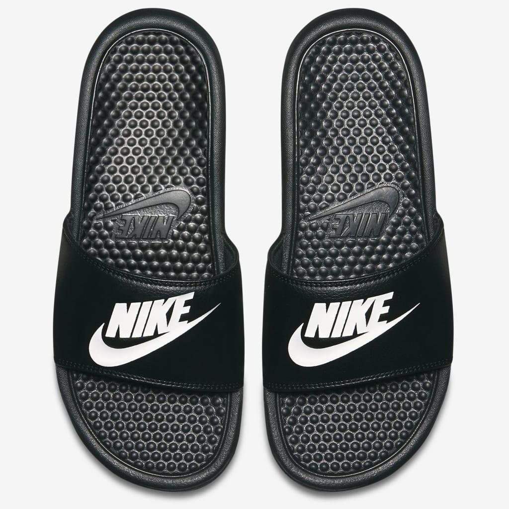 Nike Men's Benassi Just Do It Sports Slides $15