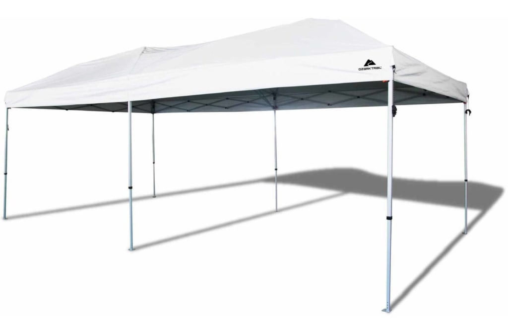 Ozark Trail 20x10-Foot Instant Canopy for $139