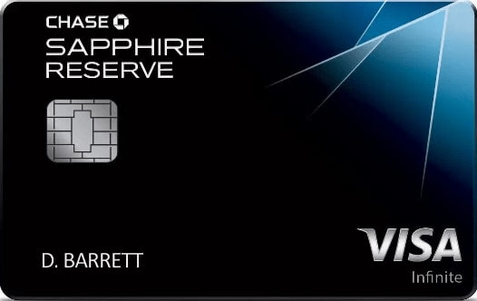 Chase Sapphire Reserve℠ Card 50,000 Bonus Points
