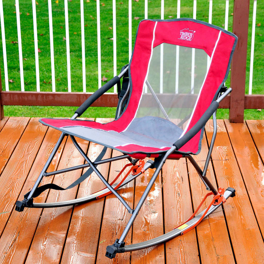 Timber Ridge Folding Rocker Chair from $30
