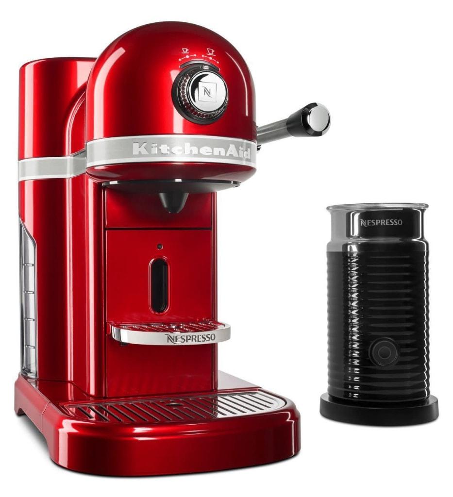 KitchenAid Nespresso Espresso Maker with Milk Frother for $200
