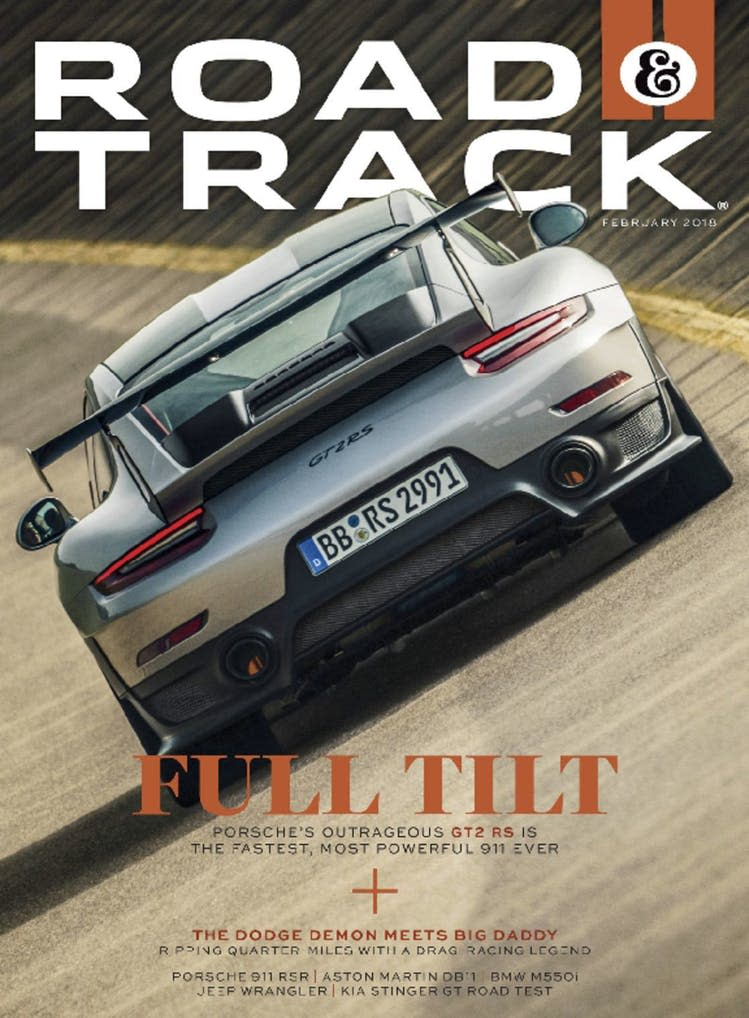 Road & Track 1-Year Subscription: 10 issues free