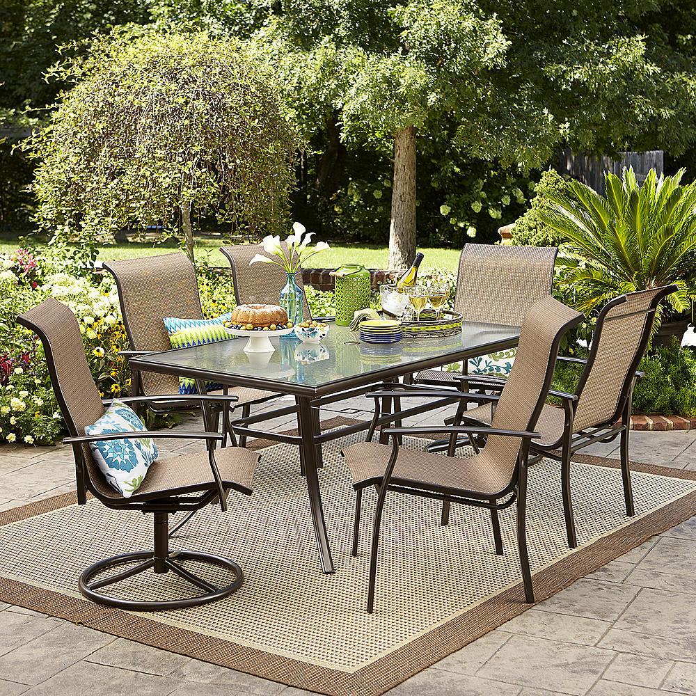 Garden Oasis 7pc Dining Set w/ $53 Sears GC $300