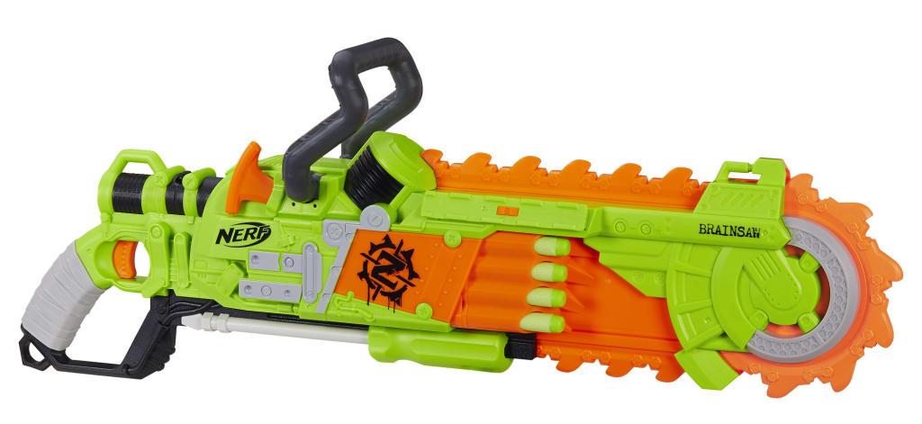 Nerf Zombie Strike Brainsaw Blaster for $12