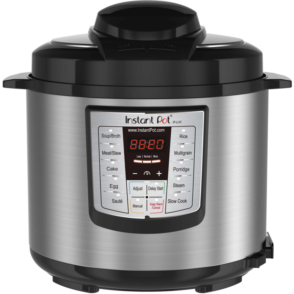 Instant Pot 6 Quart 6-in-1 Multi-Use Programmable Pressure Cooker for $49