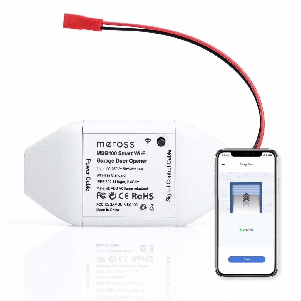 Meross Smart WiFi Garage Door Opener for $39