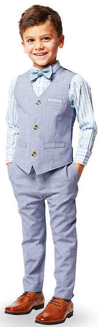 Andy & Evan Boys' 4-Piece Suit for $20