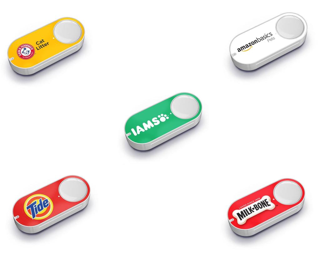 Amazon Dash Button, $5 Amazon Credit for $2