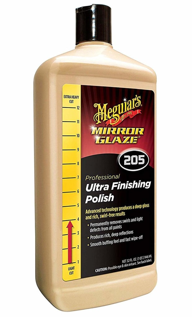Meguiar's Mirror Glaze Ultra Finishing Polish for $20