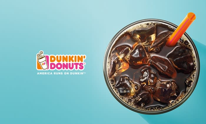 Dunkin' Donuts Cashback: Up to $3 back per order