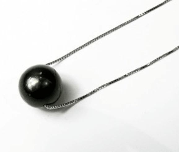 11.5mm AA Black Tahitian Pearl Necklace for $49