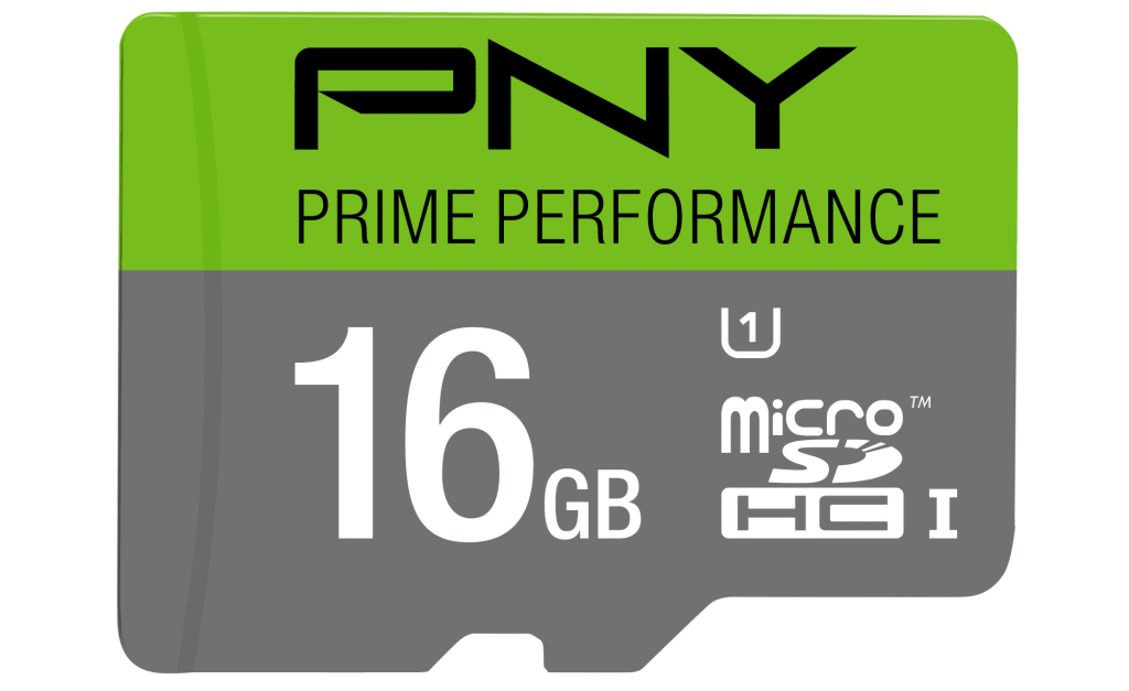 PNY 16GB Prime Class 10 micro SD Card for $7