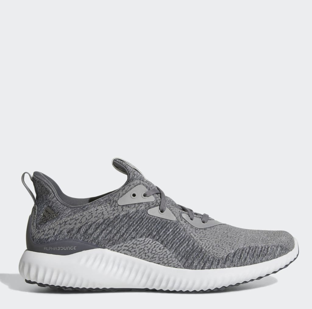 adidas Men's Alphabounce Reflective Shoes for $37