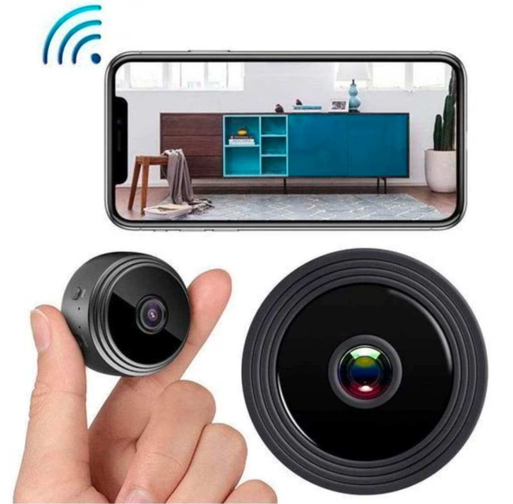 AMZ Security Mini 1080P Spy Camera for $37