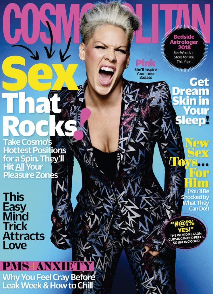 Cosmopolitan Magazine 1-Year Subscription for free