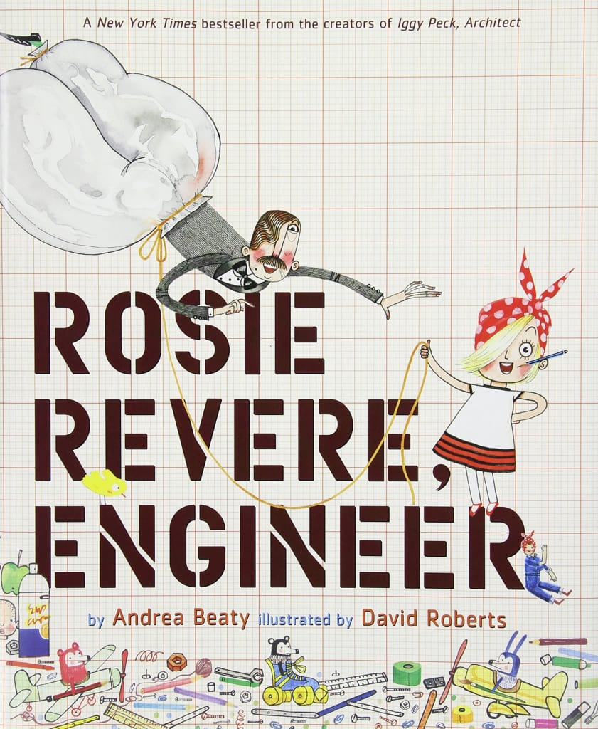 """Rosie Revere, Engineer"" Hardcover Book for $7"