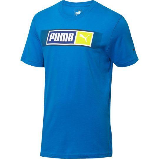 PUMA Men's No. 2 Logo T-Shirt for $8