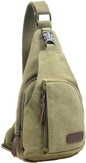 Men's Canvas Crossbody Shoulder Bag for $9