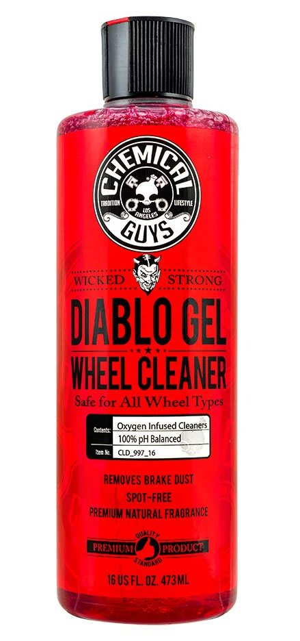 Chemical Guys Diablo Gel Wheel and Rim Cleaner 16-oz  Bottle for $10