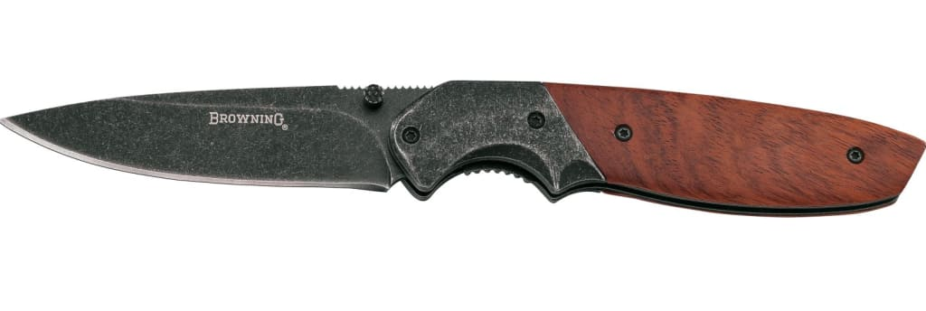 Browning Cocobolo Folding Knife For 8