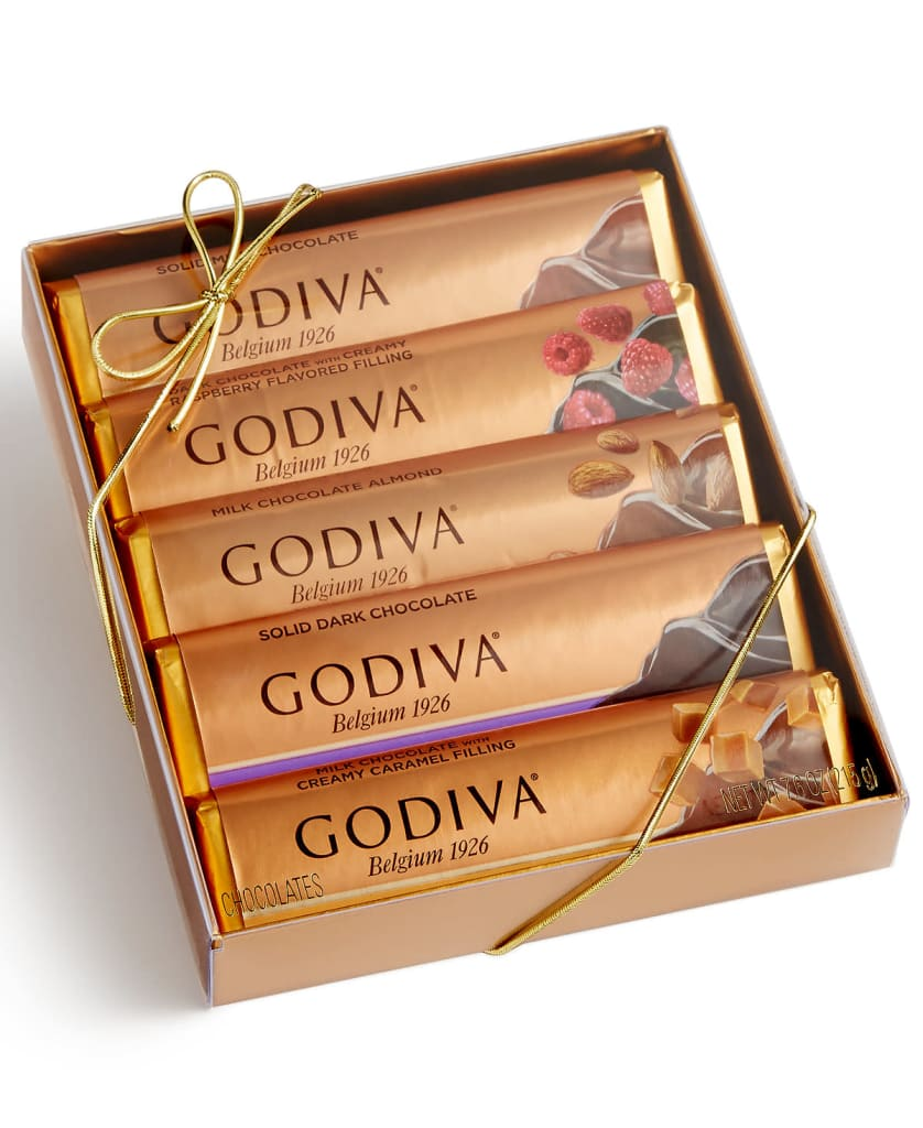 Godiva 5-Bar Chocolate Gift Pack for $9