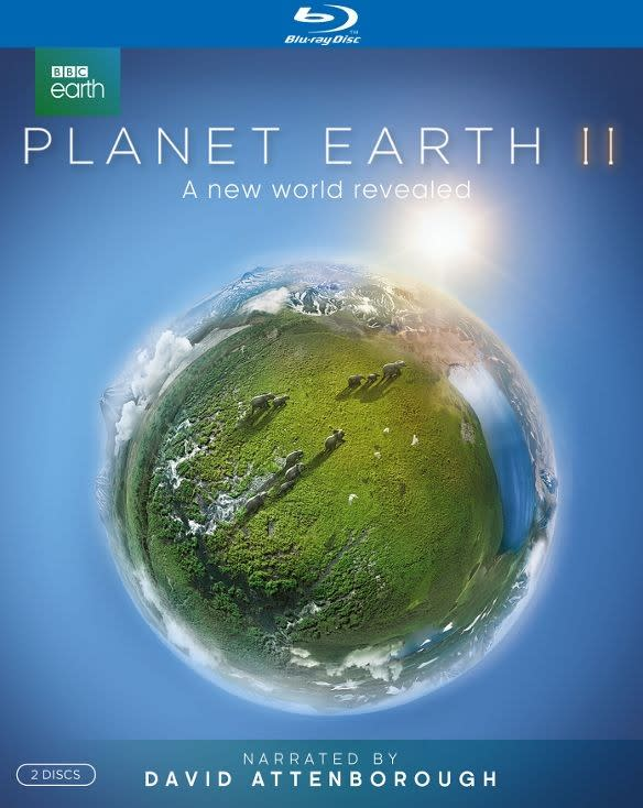 Planet Earth II on Blu-ray for $15
