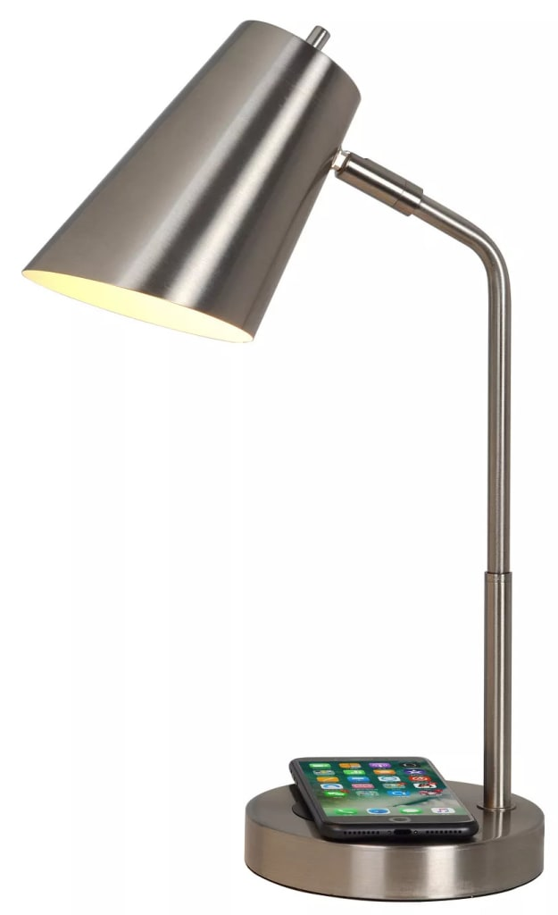 Project 62 LED Charging Table Lamp w/ Bulb for $22