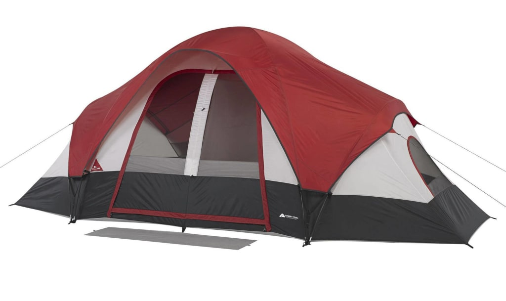 Ozark Trail 8-Person Family Tent for $50