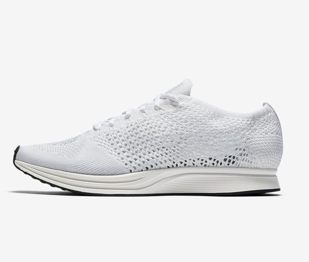 Nike Unisex Flyknit Racer Running Shoes $82