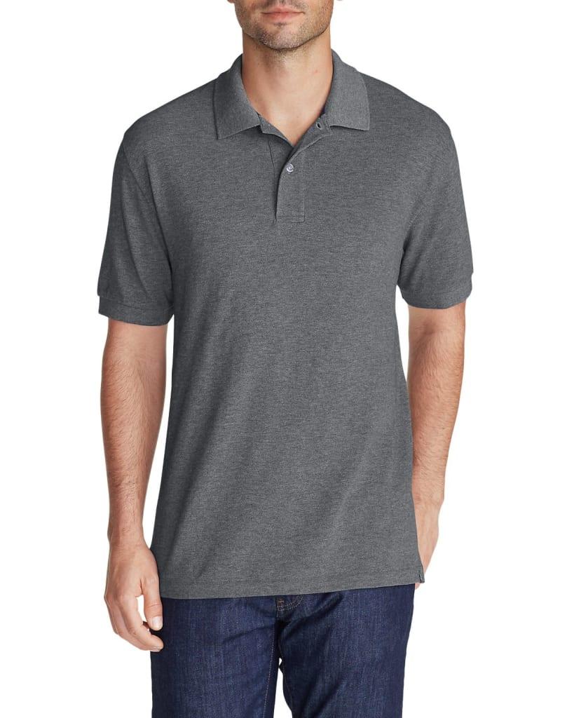 Eddie Bauer Men's Field Short Sleeve Polo for $10