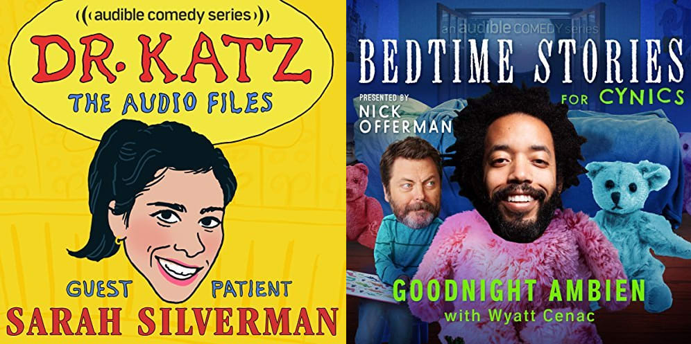 Audible Original Comedy Series Episodes for free