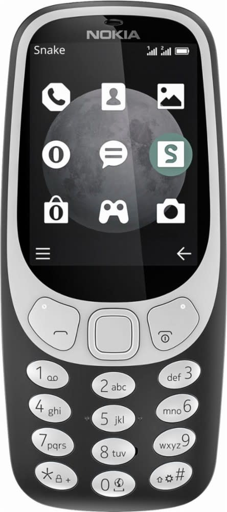 Unlocked Nokia 3310 3G Cell Phone Bundle from $52