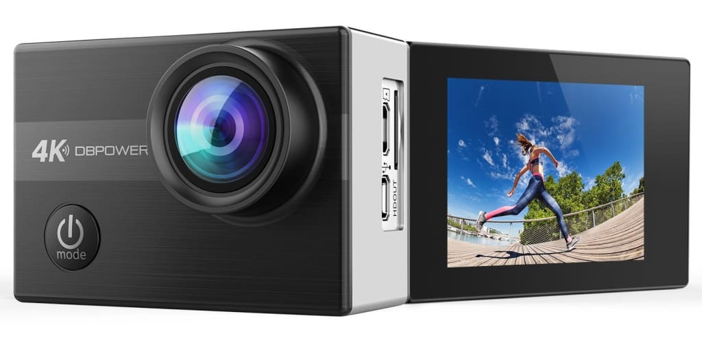 DBPower N5 4K WiFi Action Camera for $48