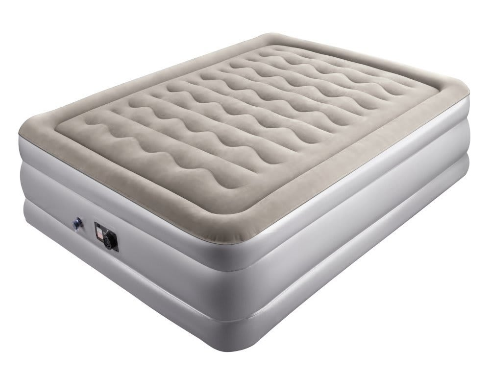 Sable Full Size Air Mattress with Pump for $70